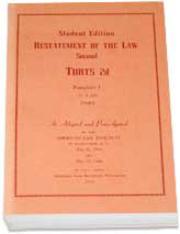 Restatement of the Law Second, Torts
