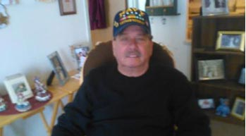 U.S. Navy veteran Ron Graus