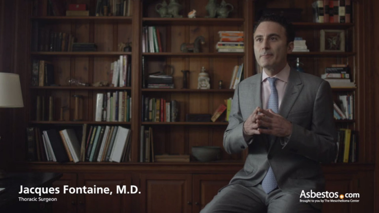 Dr. Jacques Fontaine video on malignant mesothelioma