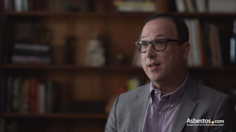 Joe Lahav video on asbestos and mesothelioma