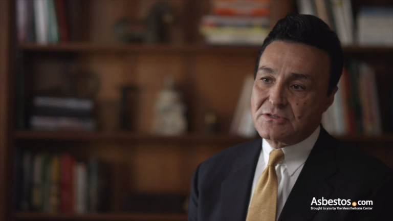 Dr. Gharagozloo video on mesothelioma cancer