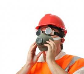 asbestos safety mask