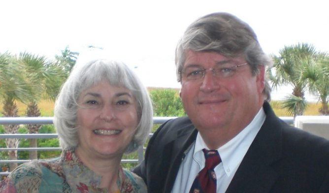 Pleural mesothelioma patient Sissy Hoffman and Dr. David Sugarbaker