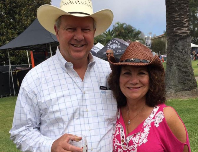 Tina Herford and Doug