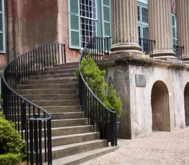 Stairs at the University of South Carolina