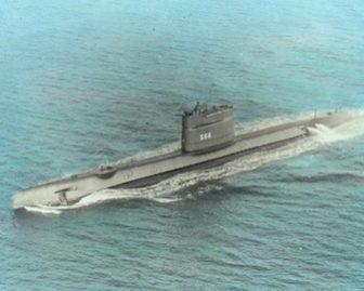USS Trout Submarine