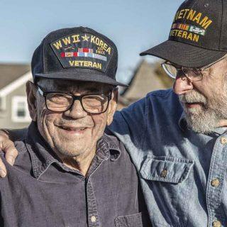 World War II and Vietnam War veterans