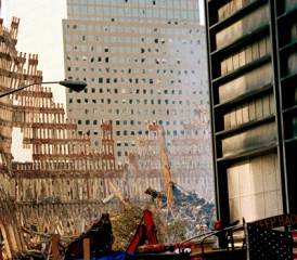 Site of World Trade Center Destruction