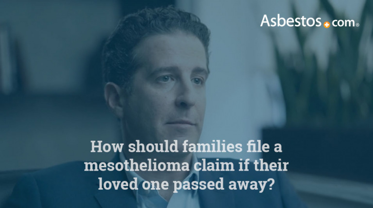 Wrongful death mesothelioma claim video thumbnail