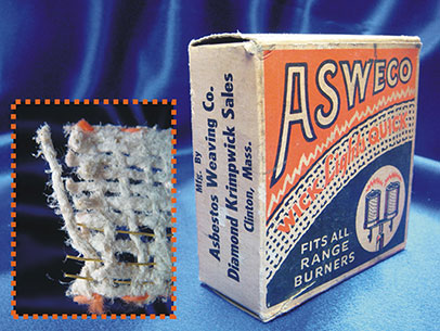 Asbestos Stove Wick
