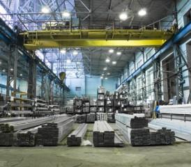 Inside of an aluminum plant