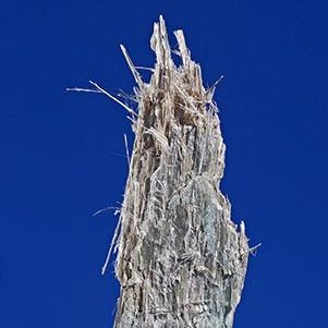 Anthophyllite Asbestos Mineral Specimen