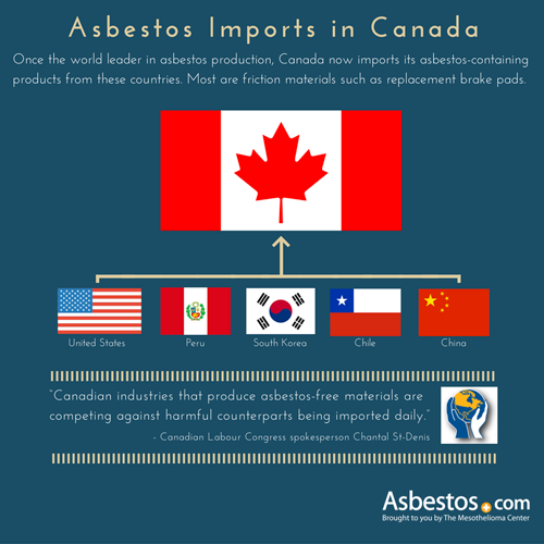 Asbestos Imports Infographic