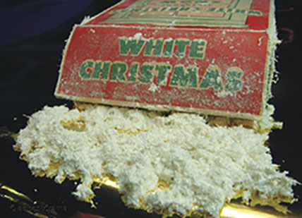 Fake Snow Made from Asbestos
