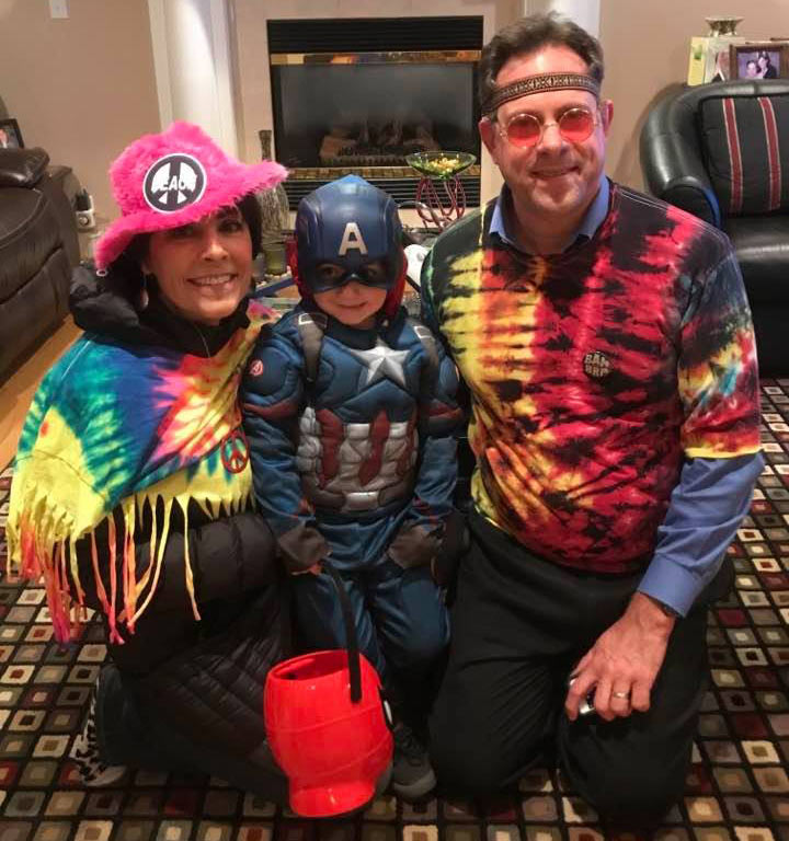 Less than two months after surgery, peritoneal mesothelioma survivor Darlene Micciche was able to go trick-or-treating with her 3-year-old grandson.