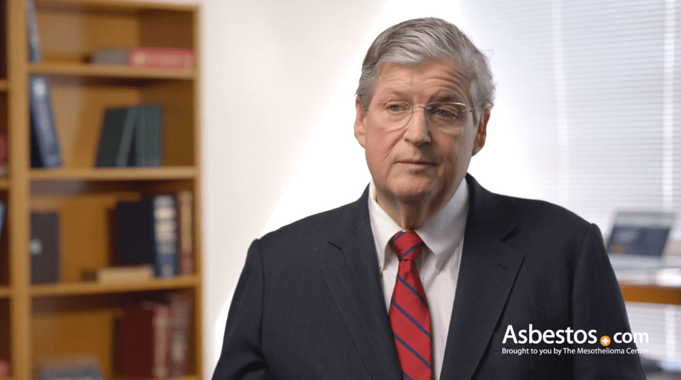 Video of mesothelioma specialist Dr. David Sugarbaker explaining how mesothelioma diagnosed.