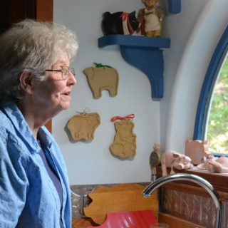 Emily Ward reflecting