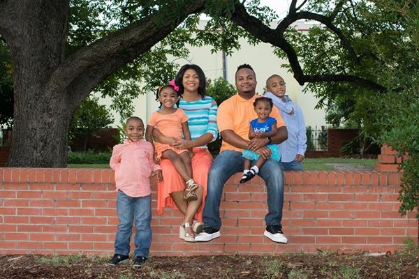 Tamron Cox-Little's family