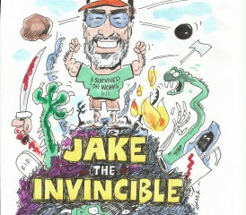 Jake the Invincible Drawing