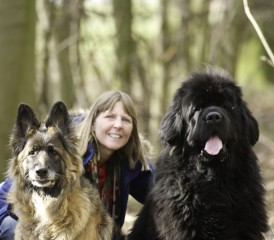 Jan and Her Dogs