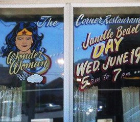 Janelle Bedel Wonder Woman