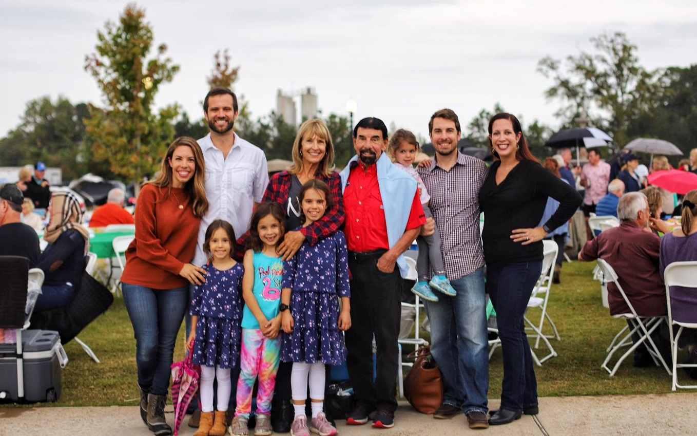 John Stathas family at Banks & Shane