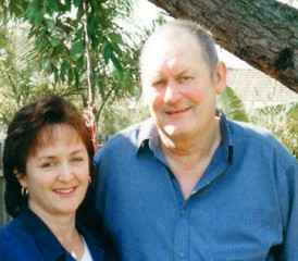 Lorraine Kember, Mesothelioma Caregiver, and Husband