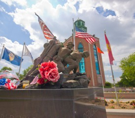 Veterans Memorial in New York