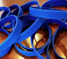Mesothelioma Awareness Wristbands