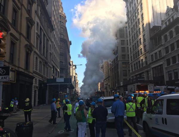 NYC steam pipe burst