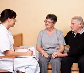 Doctor Discussing Options with Patient