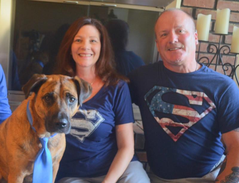 Family Takes Superman Approach to Mesothelioma