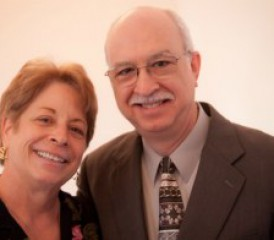 Mesothelioma survivor Ruth Phillips and her husband Glenn