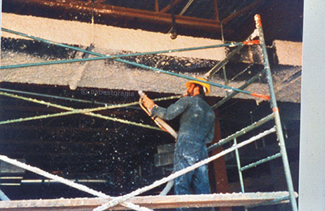 Spray-Applied Fireproofing Installation