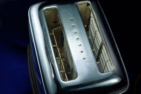 Vintage Asbestos-Insulated Toaster