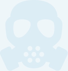 Protective mask icon