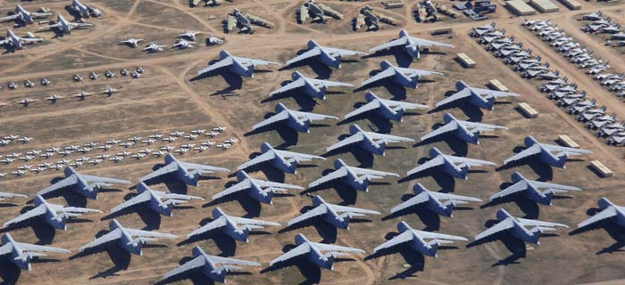 Davis-Monthan Air Force Base Aircraft Boneyard