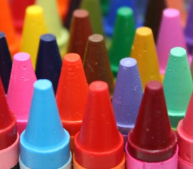 Crayons with Asbestos