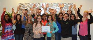 The Mesothelioma Center Group Photo for Rare Disease Day