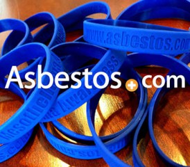 Asbestos.com wristbands