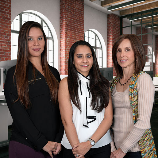 The Asbestos.com team posing for a group photo.