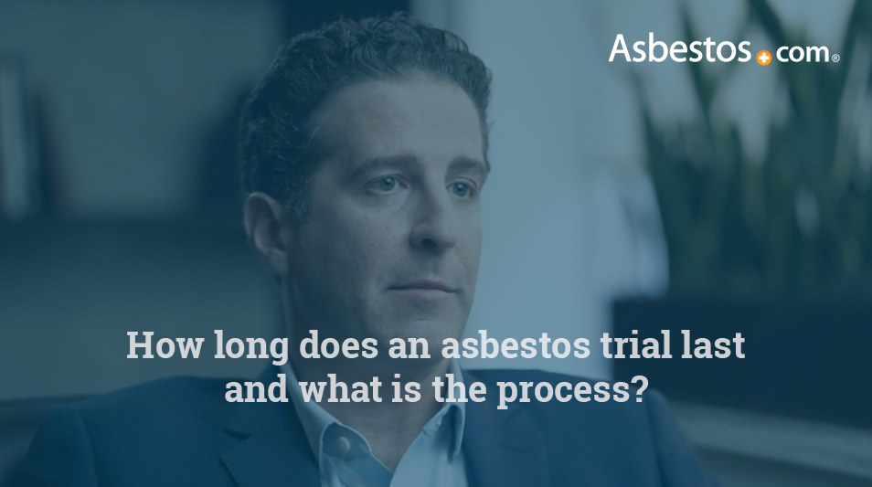 Asbestos trial process video
