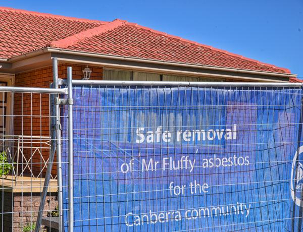 Australian home with asbestos