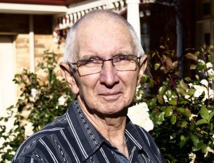 Mesothelioma survivor Barry Knowles