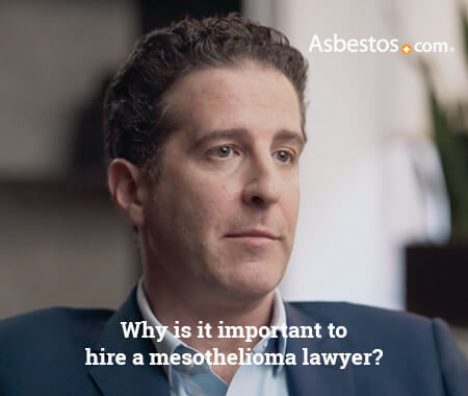 Video thumbnail on the importance of hiring a mesothelioma lawyer