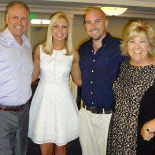 Peritoneal mesothelioma survivor Beth Mixon and her family