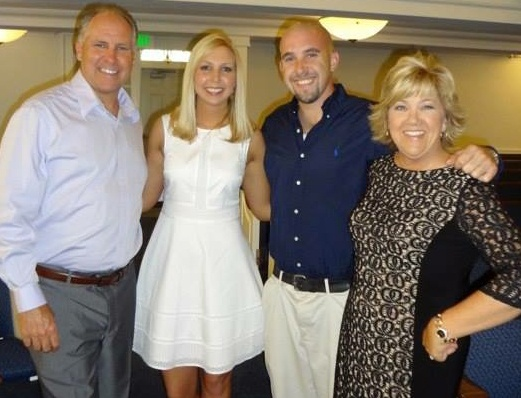 Peritoneal Mesothelioma survivor, Beth M. and her family