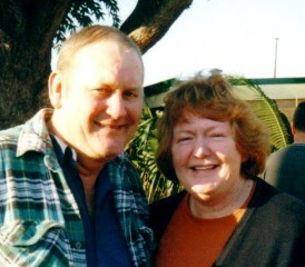 Mesothelioma Cancer Victim Brian and his sister Pat