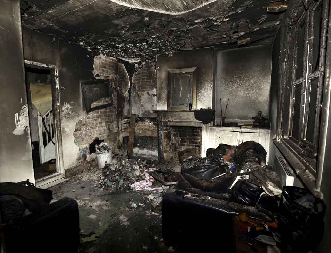 Asbestos and Fire Is a Deadly Mix