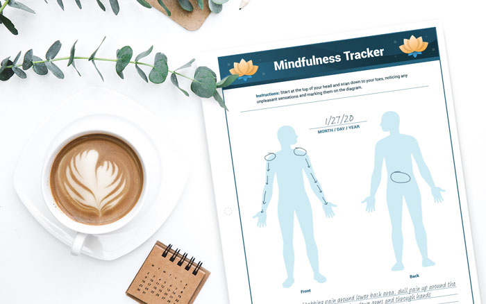 Mindfulness Tracker for cancer patients